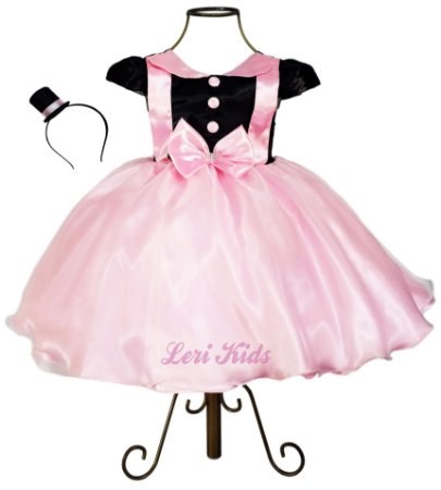 Vestido Luxo Infantil Mundo Bita + Tiara
