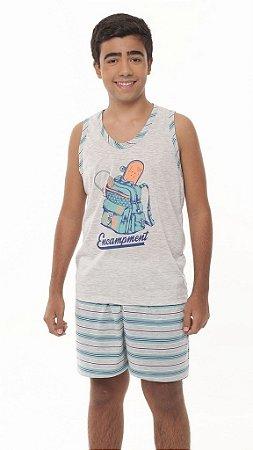 Pijama Juvenil Mescla - 1012