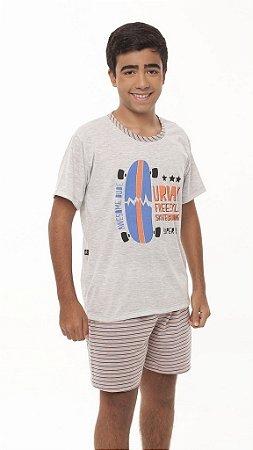 Pijama Juvenil Mescla - 1013