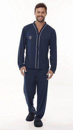 Pijama Longo Aberto - 4131