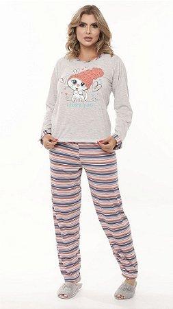 Pijama Mescla - 0880