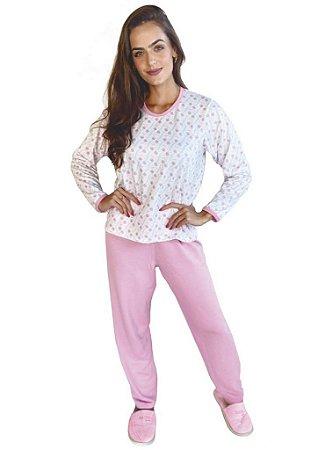 Pijama Longo de Moletim - 0159
