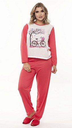Pijama Longo Malha - 0140