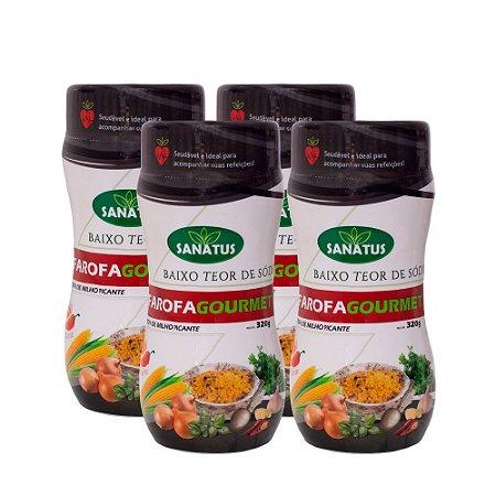 KIT com 04 Farofa Gourmet Milho Picante 320g cada