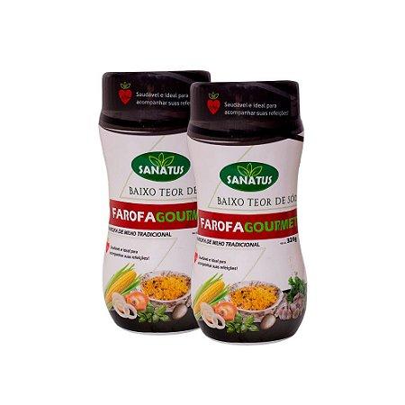 KIT Farofa Gourmet Milho 320g cada