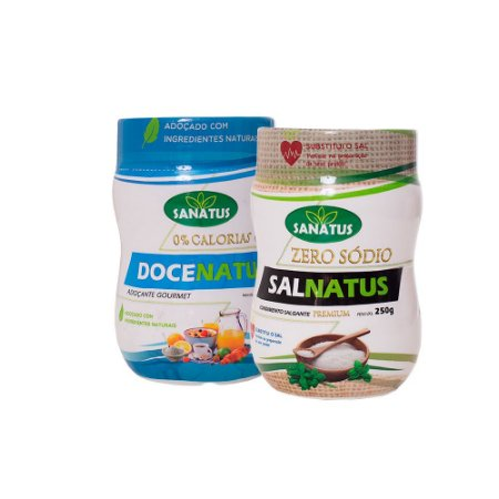 KIT Docenatus 250g + Salnatus Premium Zero Sódio 250g