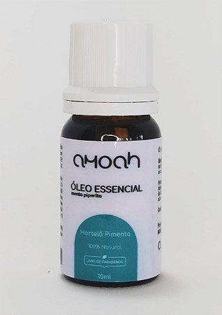 Óleo Essencial de Hortelã Pimenta Puro 10ml Amoah