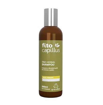Fito Fine Herbal Shampoo Desobstrução e Regulação 250ml Grandha