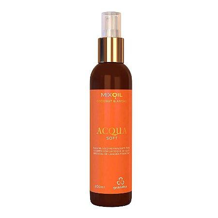 Coconut & Argan Acqua Soft Hidrantante e Perfumada 200ml Grandha