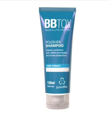 BBTOX Polisher Shampoo Reparador Hidratante 120ml