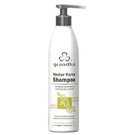 Vector Force Shampoo Cabelos Cacheados Low Poo 500 ml Grandha