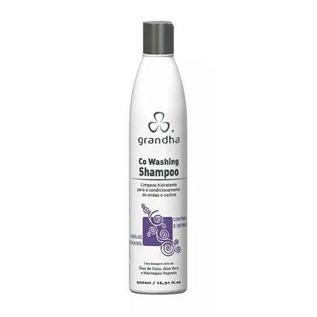 Co-Washing Shampoo Texturização de Crespos e Cachos - 500ml Grandha