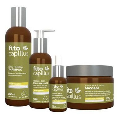 Kit Fito Capillus Fine Herbal Grandha