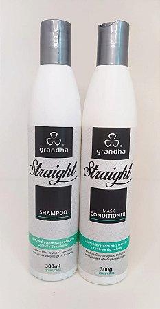 Kit Straight Grandha (shampoo e condicionador)