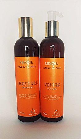 Kit Coconut e Argan Grandha (shampoo e condicionador)
