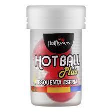 BOLINHA HOT BALL PLUS ESQUENTA E ESFRIA