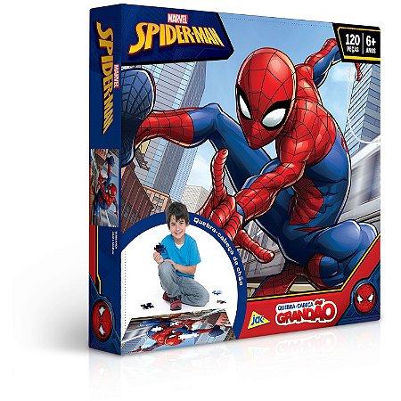 Spider-Man - Quebra-cabeça - 120 peças Grandão