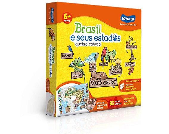 Quebra Cabeça Brasil e seus Estados