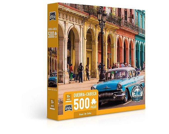 Ruas de Cuba - Quebra-Cabeça - 500 peças
