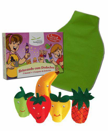 Dedoches + Avental Frutas
