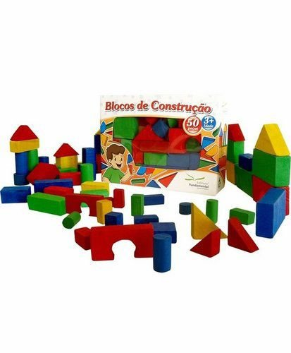 Blocos de Construção 50 peças