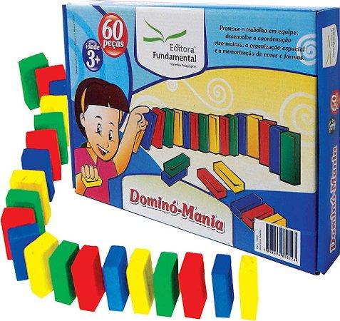 Dominó Educativo Mania 60 peças