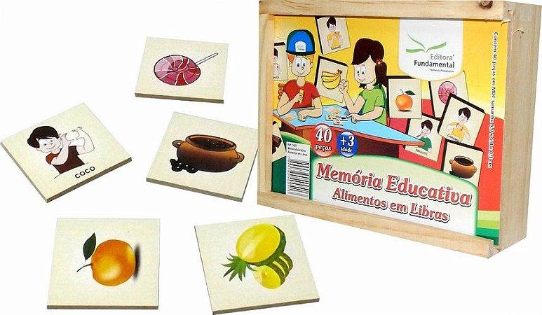 Memória Alimentos Em Libras