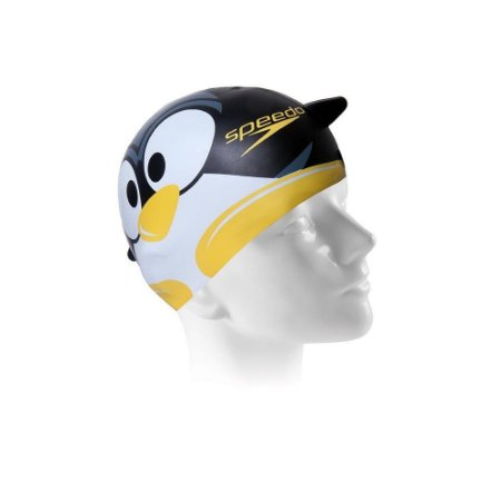 TOUCA SPEEDO PINGUIM CAP PRETO