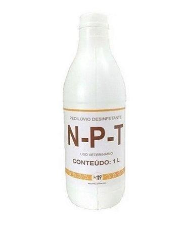 Pedilúvio desinfetante N-P-T 1L