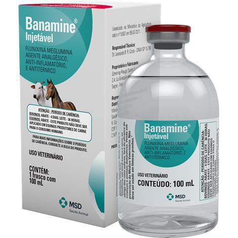 Banamine Injetavel 100 ml