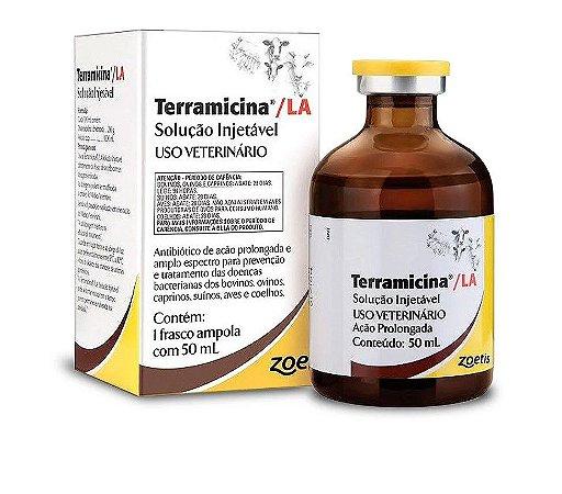 Terramicina LA Solução Injetável – 50 ml