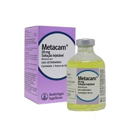 Metacam injetável 20mg  -  50mL