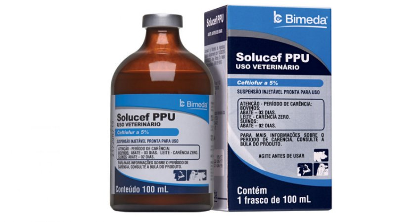 Solucef Ppu - Ceftiofur - 100ml
