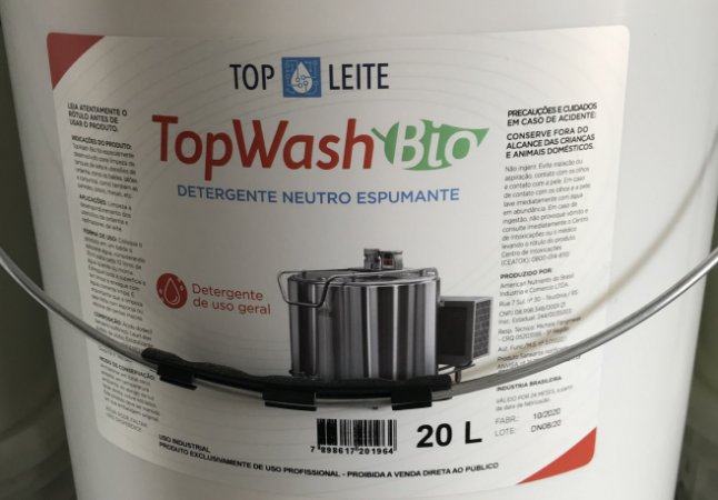 TopWash Bio - Detergente neutro espumante 20 Litros