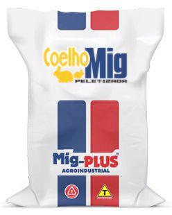 Ração Coelho  Mig-Plus 5 e 20Kg