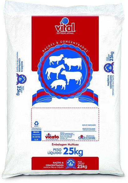 Ração Ovinos Granulada Vital 25Kg