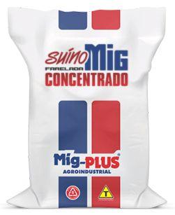 Concentrado Suíno  Mig-Plus 5 e 20Kg