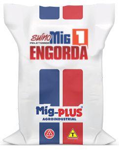 Ração Suíno Engorda  Mig-Plus 20Kg