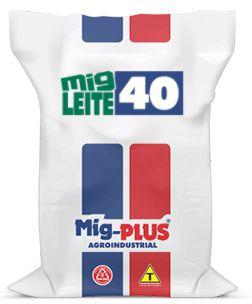 Ração Leite 40  Mig-Plus 20Kg