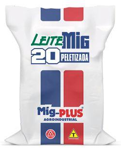 Ração Leite 20%  Mig-Plus 20Kg
