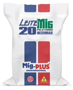 Ração Leite Bezerras  Mig-Plus 20Kg