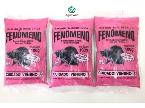 Raticida Fenômeno
