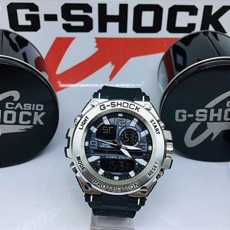 G-SHOCK STEEL - PRATA