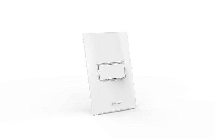 Conjunto Interruptor 1 Tecla Simples Beleze 2x4