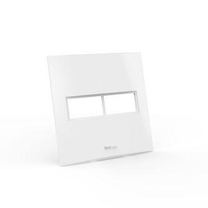 Placa para 1 + 1 módulo 4x4 Beleze