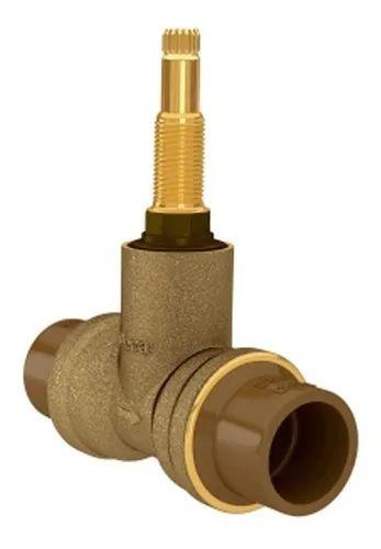 Base Fácil Registro de Pressão para PVC Deca