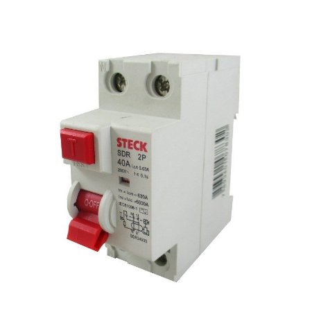 Interruptor Diferencial Residual DR 2p Steck