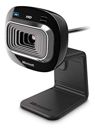 Webcam Preta Microsoft Lifecam Hd-3000 T4h-0002
