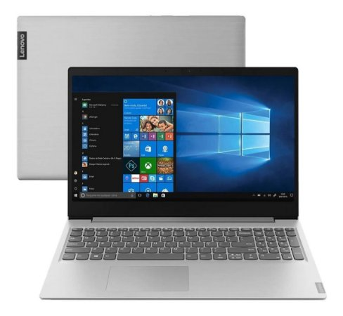 Notebook Lenovo S145 Ryzen 3-3200u 8gb 256gb W10 15,6  Prata