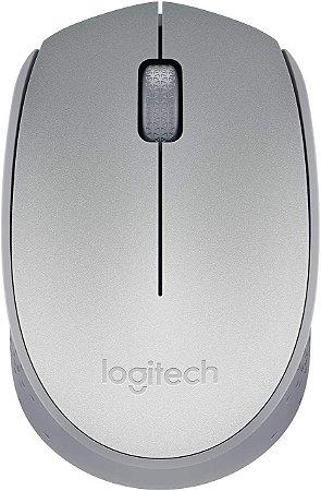 Mouse Sem Fio Logitech M170 Prata